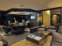 Exclusive reception-lounge-concierge
