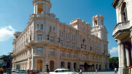 National Museum of Fine Arts panoramic view, Havana city